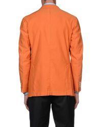Boglioli - Orange Blazer for Men - Lyst