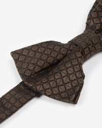Ted Baker | Brown Square Geo Bow Tie for Men | Lyst