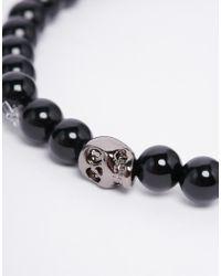 Simon Carter - Black Onyx Cross Bracelet In 2 Pack for Men - Lyst