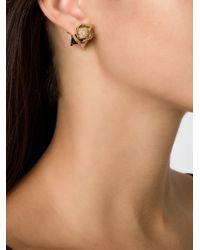 Eddie Borgo Metallic 'rose Bud' Stud Earrings