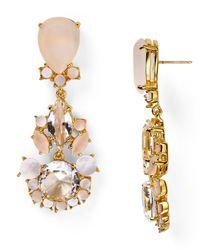 kate spade new york - Metallic Grande Bouquet Statement Earrings - Lyst