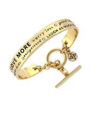 BCBGeneration | Metallic Archtypes Cuff Bracelet | Lyst