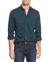 Bonobos | Green Slim Fit Oxford Long Sleeve Sport Shirt for Men | Lyst