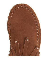 Aéropostale | Brown Go Jane Kalisa Moccasin Bootie | Lyst