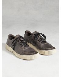 John Varvatos | Brown Bedford Low Top for Men | Lyst
