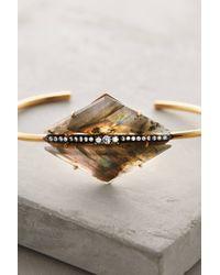 Indulgems - Metallic Blazed Arrow Cuff - Lyst