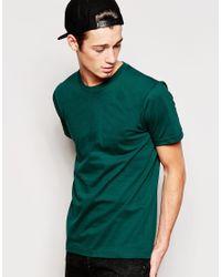 American Apparel Green Fine Jersey T-shirt for men