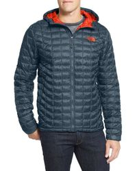 The North Face | Blue 'thermoball' Primaloft Hoodie Jacket for Men | Lyst