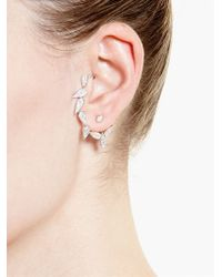 Yvonne Léon - Metallic Diamond Chain Ear Cuff - Lyst