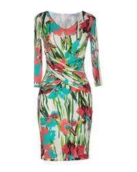 Blumarine | White Short Dress | Lyst