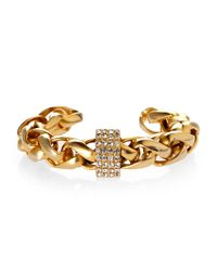 Janis By Janis Savitt | Metallic Janis Janis Savitt Gold-Tone Twisted Cuff Bracelet | Lyst