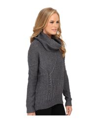 Splendid | Gray Stanton Cable Pullover | Lyst