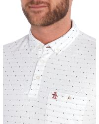 Original Penguin - White Turkic Polo Shirt for Men - Lyst