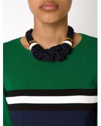 Lizzie Fortunato   Blue 'spirits For Sale' Necklace   Lyst