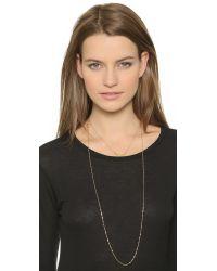 Jennifer Zeuner | Metallic Pippa Necklace - Gold | Lyst