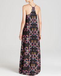 Mara Hoffman Multicolor Maxi Dress Snake Print