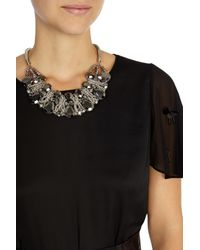 Coast - Gray Herme Necklace - Lyst