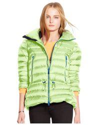 Polo Ralph Lauren Green Down Puffer Coat