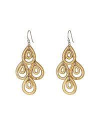 Anna Beck - Metallic Medium Chandelier Earrings - Lyst