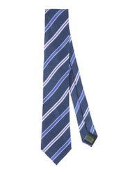 Pedro Del Hierro Madrid - Blue Tie for Men - Lyst