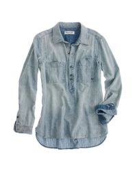 Madewell | Gray Rivet & Thread Tincup Popover | Lyst
