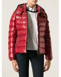 Moncler | Red Bady Padded Jacket | Lyst