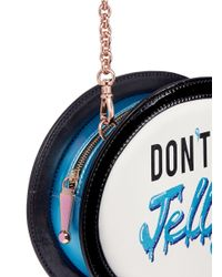 Sophia Webster Multicolor 'don't' Be Jelly' Speech Bubble Leather Bag