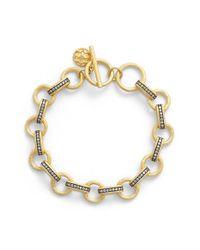 Freida Rothman | Metallic 'quintessential' Chain Link Line Bracelet | Lyst