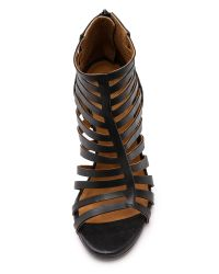 Coclico - Joni Cage Wedges - Black - Lyst