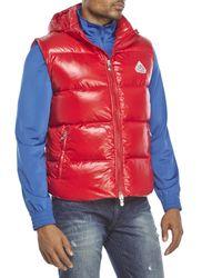 Pyrenex | Red Spoutnic Shiny Down Vest for Men | Lyst
