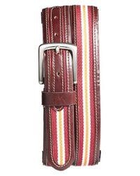 Jack Mason Brand   Red 'tailgate - Virginia Tech Hokies' Belt   Lyst