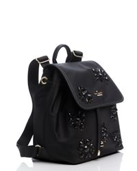 Kate Spade | Black Classic Nylon Jewels Molly | Lyst