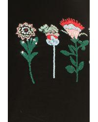 Paul Andrew - Black Ring Sequined Merino Wool Sweater - Lyst