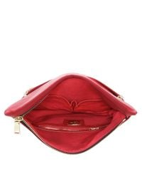 Nine West | Red Mallory Zipper Clutch | Lyst