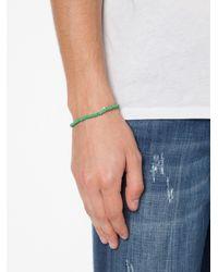 Luis Morais | Green Small Trikona Beaded Bracelet | Lyst