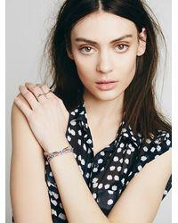 Free People | Multicolor Dafne Womens Vintage Fabric Bracelet | Lyst