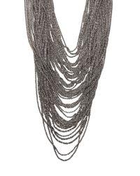 Emanuele Bicocchi | Metallic Mesh Star Necklace | Lyst