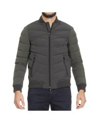 Armani Jeans - Green Down Jacket for Men - Lyst