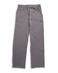 Calvin Klein - Gray Loose-fit Lounge Pants for Men - Lyst