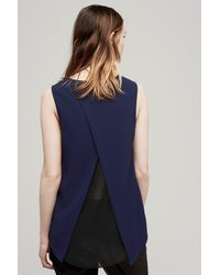 Rag & Bone - Blue Harper Top - Lyst