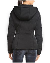 BOSS Orange Black Down Jacket 'odorella1' In Water-repellent Quality