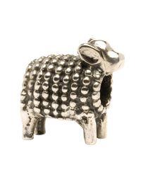Trollbeads | Metallic 'lamb' Silver Bead | Lyst