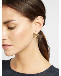 BaubleBar Metallic Pearl Broom Ear Jackets
