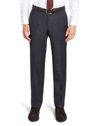 BOSS Blue 't-gleeve' | Slim Fit, Italian Virgin Wool Dress Pants for men