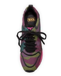 11462538d945a Ash Domino Camouflage-print Sneaker - Lyst