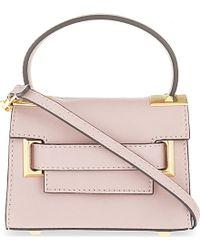 Valentino | Gray My Rockstud Mini Cross-body Bag, Women's, Grey Pink | Lyst