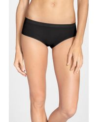 Halogen | Black Seamless Hipster Panties | Lyst