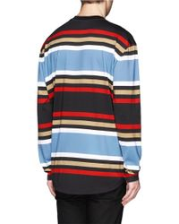 Givenchy Multicolor Stripe Long-sleeve T-shirt for men