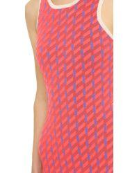 Jonathan Simkhai - Pink Techno Dress - Lyst