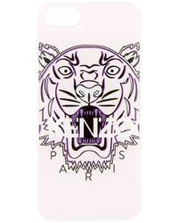 KENZO Pink Tiger Logo Iphone 5 Case